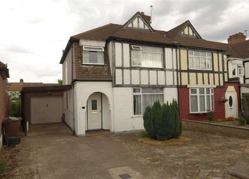 Thumbnail 3 bed semi-detached house for sale in Sancroft Road, Harrow Weald, Middx