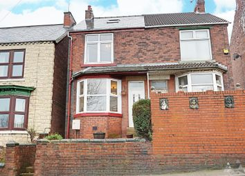 Thumbnail 2 bedroom semi-detached house to rent in Chesterfield Road, Staveley, Chesterfield, Derbyshire