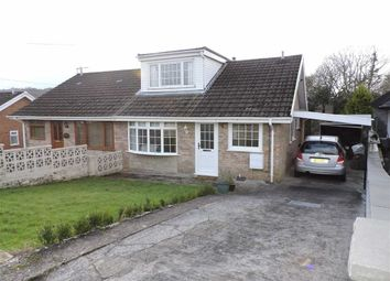 Thumbnail 3 bed semi-detached bungalow for sale in Delffordd, Rhos, Pontardawe, Swansea