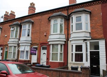 Thumbnail 2 bed terraced house for sale in Finch Road, Lozells, Birmingham