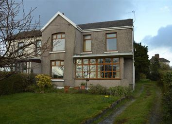 Thumbnail 3 bed semi-detached house for sale in Pontardulais Road, Swansea