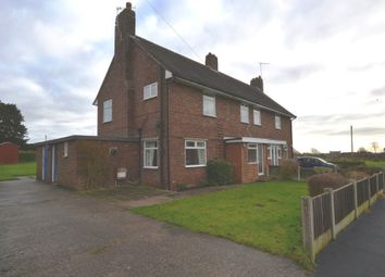 Thumbnail 3 bed semi-detached house for sale in Copelea, Cheswardine, Market Drayton