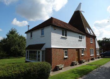 Thumbnail 4 bed detached house for sale in Marden Road, Staplehurst, Tonbridge