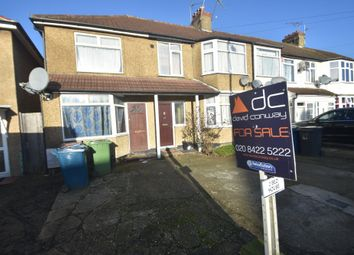 Thumbnail 2 bedroom end terrace house for sale in Roxeth Green Avenue, South Harrow
