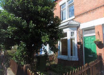 Thumbnail 3 bedroom terraced house to rent in Woodbine Avenue, Leicester