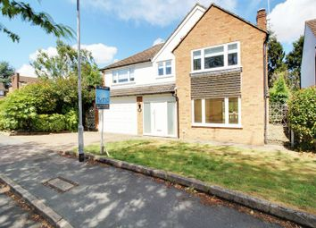 Thumbnail 4 bed detached house to rent in Brookside Crescent, Cuffley, Potters Bar
