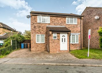 Thumbnail 3 bedroom detached house for sale in Lionel Hurst Close, Great Cornard, Sudbury