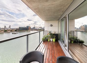 Thumbnail 2 bed flat for sale in Aegean Apartments, Royal Victoria Dock, London