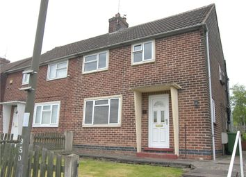 Thumbnail 3 bed semi-detached house for sale in The Green, Alfreton