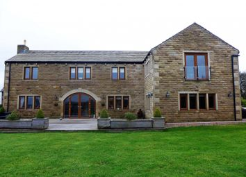 Thumbnail 6 bed detached house for sale in Gosport Lane, Halifax, West Yorkshire