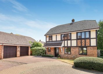 Thumbnail 4 bed detached house for sale in Brockwell, Oakley, Bedford