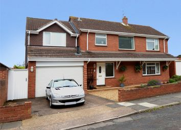 Thumbnail 4 bed detached house for sale in Woolsery Avenue, Whipton, Exeter, Devon