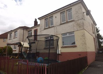 Thumbnail 3 bedroom flat to rent in Nicol Street, Airdrie, North Lanarkshire