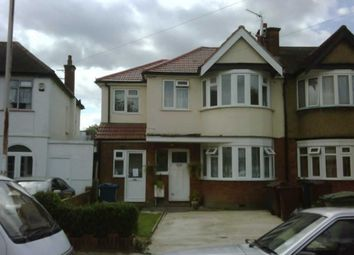 Thumbnail 4 bed triplex to rent in Lynton Road, Rayners Lane