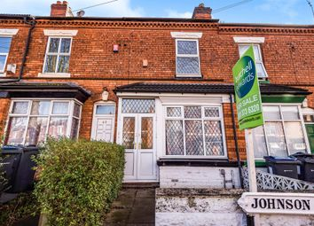 Thumbnail 2 bed terraced house for sale in Johnson Road, Erdington, Birmingham