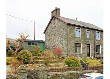 Thumbnail 4 bed semi-detached house for sale in Manod, Blaenau Ffestiniog