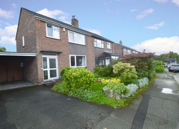 Thumbnail 3 bed semi-detached house for sale in Wingate Drive, Whitefield, Manchester