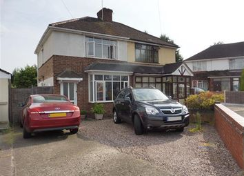 Thumbnail 2 bed semi-detached house to rent in Oakhill Avenue, Kidderminster