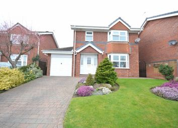 Thumbnail 3 bed detached house for sale in Warkworth Drive, Chester Le Street
