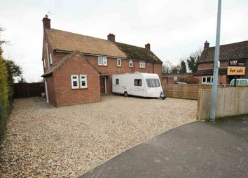 Thumbnail 3 bed semi-detached house for sale in Croft Road, Isleham