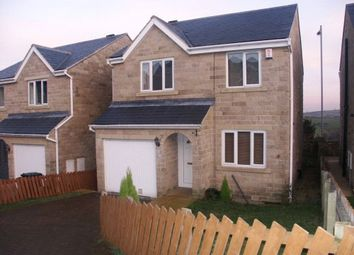 Thumbnail 4 bed detached house to rent in Clough Court, Denholme, Bradford, West Yorkshire