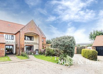 Thumbnail 3 bed terraced house for sale in Wayford Road, Stalham, Norwich