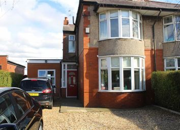 Thumbnail 3 bedroom semi-detached house for sale in Longridge Road, Grimsargh, Preston