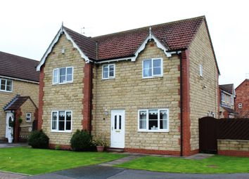 Thumbnail 4 bed detached house for sale in Old Rugby Park, Goole