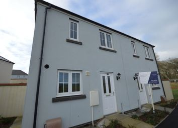 Thumbnail 2 bed semi-detached house for sale in Trevethan Meadows, Carlton Way, Liskeard