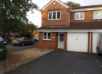 Thumbnail 3 bed semi-detached house for sale in Newmarket Road, Norton Canes, Cannock, Staffordshire