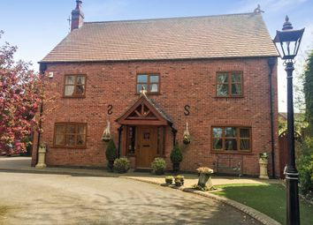 Thumbnail 5 bed detached house for sale in Cooks Lane, Wigston, Leicester