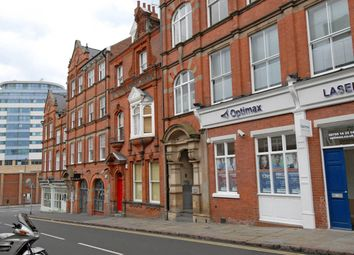 Thumbnail 1 bed flat to rent in The Zinc Building, 26 - 30 Heathcote Street, Nottingham