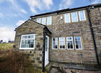 Thumbnail 3 bedroom end terrace house for sale in Hollins Row, Slaithwaite, Huddersfield