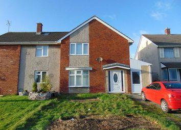 Thumbnail 3 bedroom semi-detached house for sale in Golygfor, Llanelli, Llanelli, Carmarthenshire