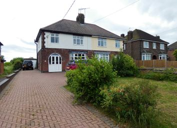Thumbnail 3 bed semi-detached house for sale in Thornborough Road, Coalville