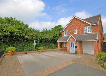 Thumbnail 5 bed detached house for sale in Overcroft, Bramshall, Uttoxeter