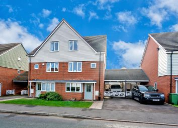Thumbnail 5 bed semi-detached house for sale in Lime Pit Lane, Hednesford, Cannock
