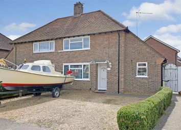 Thumbnail 2 bed semi-detached house for sale in Flatt Road, Nutbourne, Chichester, West Sussex