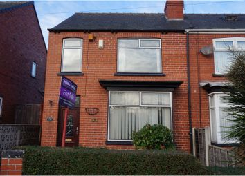 Thumbnail 3 bed semi-detached house for sale in Sidney Street, Swinton, Mexborough