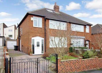 Thumbnail 3 bed semi-detached house for sale in Field End Gardens, Halton, Leeds