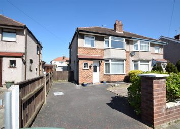 Thumbnail 3 bed semi-detached house for sale in Kirkway, Greasby, Wirral