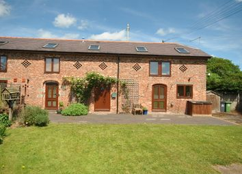 Thumbnail 3 bed barn conversion to rent in Brook Farm Mews, Grindley Brook, Whitchurch, Shropshire