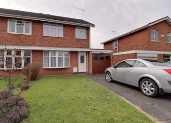 Thumbnail 3 bed semi-detached house for sale in Saxon Road, Penkridge, Stafford