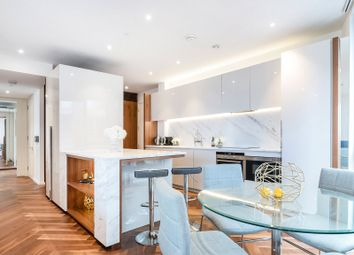 Thumbnail 3 bed flat for sale in Embassy Gardens, London