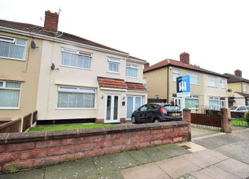 Thumbnail 4 bed semi-detached house for sale in Eaton Road North, Liverpool, Merseyside