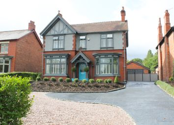 Thumbnail 4 bed detached house for sale in Chester Road, Middlewich