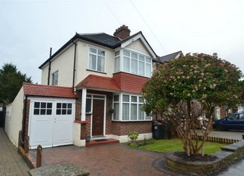 Thumbnail 3 bed semi-detached house for sale in Bushey Road, Shirley, Croydon, Surrey