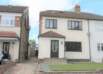 Thumbnail 4 bed semi-detached house to rent in Lingfield Avenue, Upminster