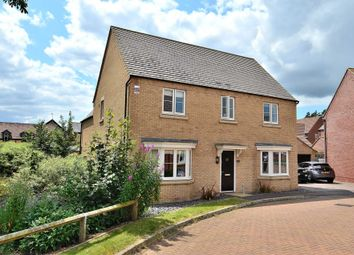 Thumbnail 4 bed detached house to rent in Wensleydale Crescent, Giffard Park, Milton Keynes
