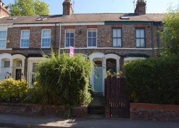Thumbnail 3 bed terraced house to rent in Nunnery Lane, York